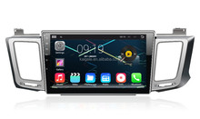 Quad-core car radio 10.1 inch big screen with Android 4.4.4 for toyota HD 1024*600