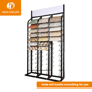 2018 latest tile showroom display tile display rack for tiles used