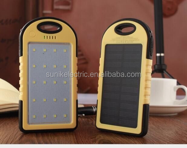 Best universal Rechargeable solar Portable Battery Power Bank 6000mah