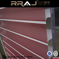 RRAJ 100% Polyester Material and window living room bedroom luxury embroidery curtains Shangri-la