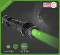 tactical 100mw 532nm green laser with remote pressure switch
