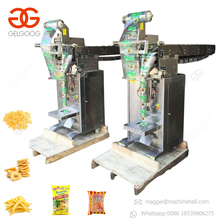 CE Approved Small Snack Banana Plantain Crisps French Fries Packaging Equipment Beef Jerky Popcorn Potato Chips Packing Machine