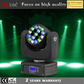 2017 best price 19x3w 4 in 1 rgbw mini beam stage light moving head with dmx controller
