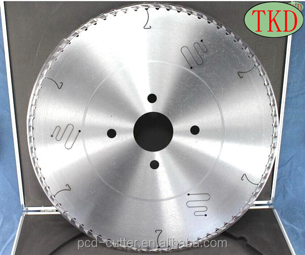 PCD saw blades used for cnc machined parts