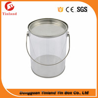 Small Tin Buckets For Toy pvc Tin Bucket