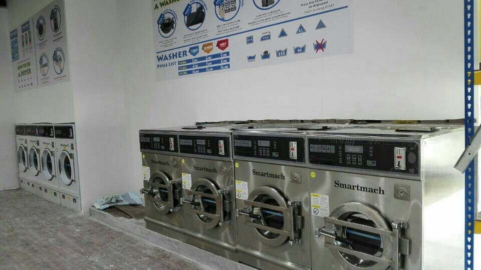 coin operated laundry machine for sale