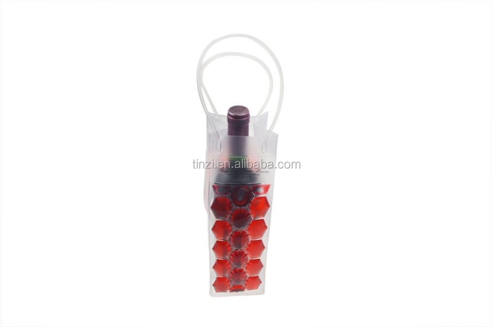 Champagne Cooler Bag, Wine Bottle Bag, Gel Ice Pack Bottle Cooler