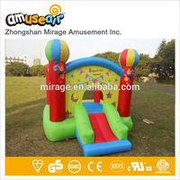 Dora Customized Giant Inflatable Bouncer Soccer Theme Type
