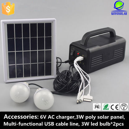 Home Application and Normal Specification solar energy system solar home system solar panels with built in inverters