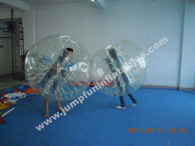 TPU Body Zorb Ball kids and adults use Soccer bubble