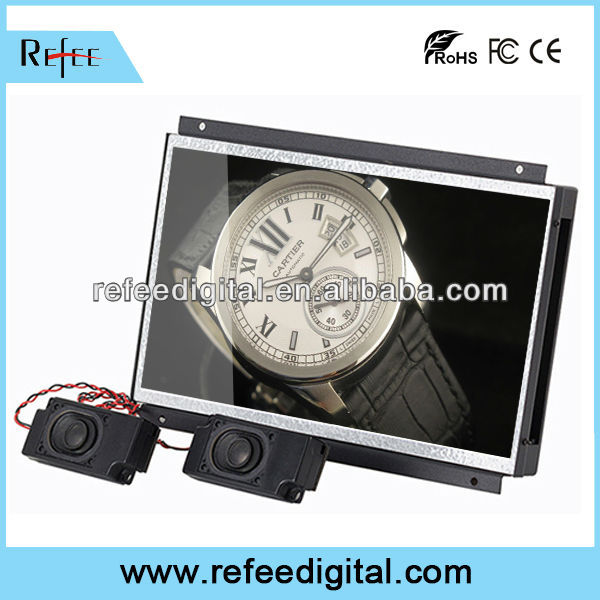 10 inch vga hdmi touchscreen open frame lcd display