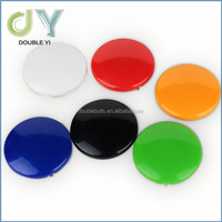 Promotional Varied colorful design stationery round magnet