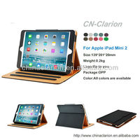 for iPad Mini 2 Case, Wallet Stand PU Leather Case for iPad mini 2/1 Smart Case