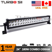 "Local Delivery 27"" 160W SPOT FLOOD Combo LED LIGHT BAR WORK DRIVING LAMP Offroad SUV UTE Jeep led work light"