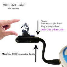 2019 Marvel Super Hero Ant Man Mini Flexible USB for laptop Lamp Night Light Movie USB LED Lighting Holiday Gift Kids Toy