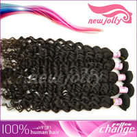 wholesale cheap human hair weave and beauty supplies black color