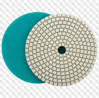 high grade resin diamond wet polishing pad for polishing ground