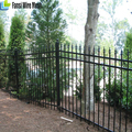 USA standard Hot dip galvanized steel tube Decorative Prefab Fencing