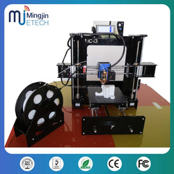 hot sale full Arcylic High Precision Industrial 3d printer kit i3 3d Printer machine