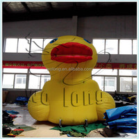 inflatable advertising products, yellow duck , inflatable advertising cartoon