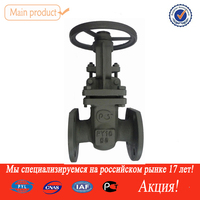 [PYL]china supplier pipe fitting for oil gas and water stainless steel stem flanged cast steel gate valves pn16 dn100
