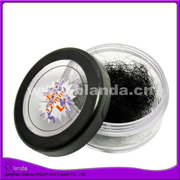 High quality handmade Individual silk single loose eyelashes 8mm