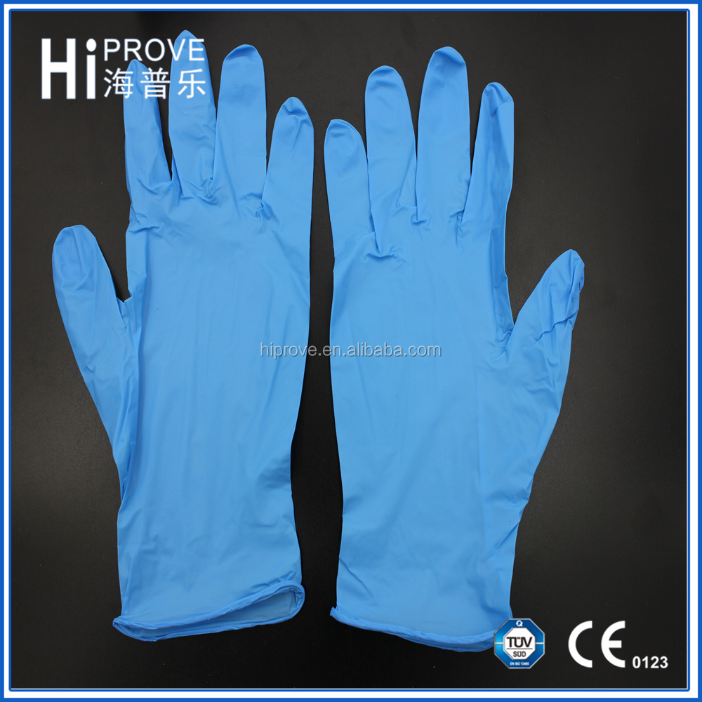 Medical, Food and Industrial Use Disposable Nitrile Examination Gloves Nitrile Glove Price