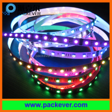 60 LEDs/m 10 pixels/m addressable RGB 24V DMX512 LED strip light