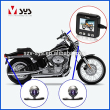 dual lens motor vehicle camera DVR with R1S lens and GPS tracker for best quality top sale names of motorcycle parts