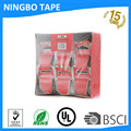 Shipping clear Packaging Tape --6 Rolls with Dispenser