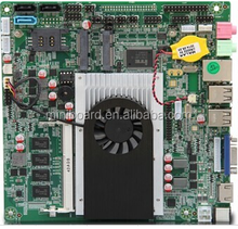 CPU Celeron 1037U Dual Core 1.8G Mini-ITX Motherboard with 2*Mini-PCIE and 8 USB