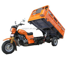 250cc hydraulic dumper tricycle for cargo