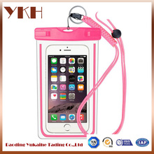Cheap full cover pvc waterproof cell phone case, waterproof bag for phone