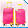 exclusive decent colorful printed super light pc sky travel luggage