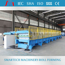 AG and PBR Double layer Metal roofing used roll forming machine roofing sheets machine
