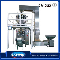 CE Certification High Speed Vertical Cookies Biscuit Packaging Machine