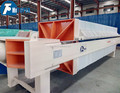 Copper smelting wastewater treatment chamber filter press