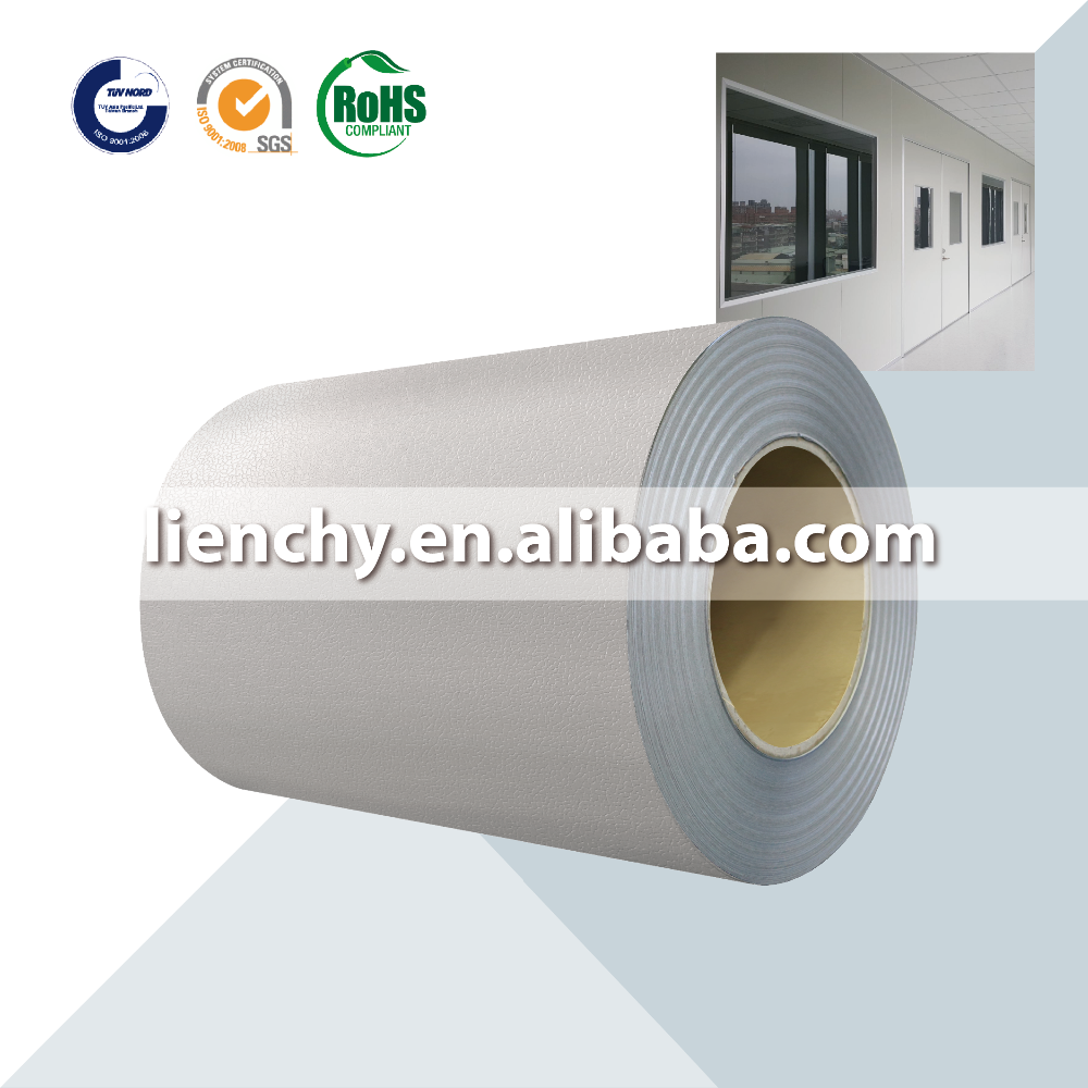 Cold Rolled PVC Laminated Steel Coil VCM product Modular Panel
