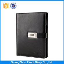 Hot Sale Custom 2017 Fancy Business Notebook Diary