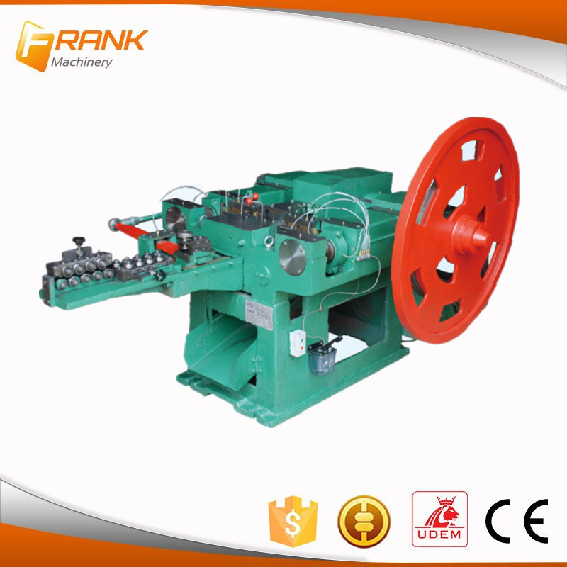 corrugated automatic roofing coil nail making machine