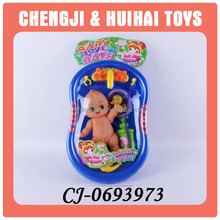wholesale funny cheap plastic toys naked baby doll for kids