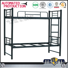 China Export Steelite Sale cheap hotel furniture metal bunker bed