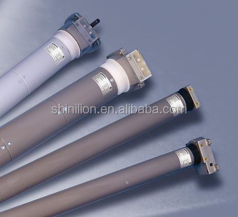 Ac electric roller shutter motors tubular remote control for Roller shutter electric motors