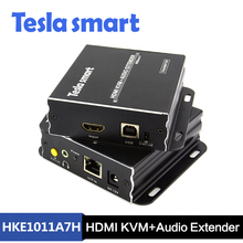 High Quality 100m HDBaseT with USB 2.0 and Audio HDMI KVM Extender