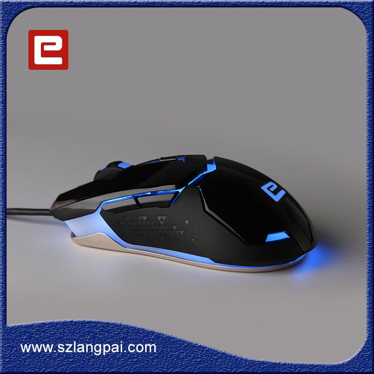 2017 New Style Wired Silicon Mouse For Professional Gamer