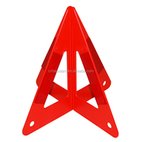 Auto Exterior Accessories road saftey cheap red warning triangle sign(HX-D5)