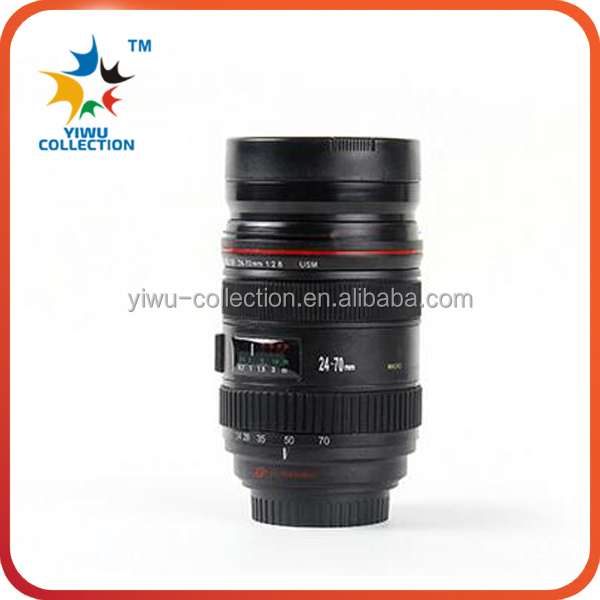 Camera Lens Coffee Tea Mug/Insulated Thermo Lens <strong>Cup</strong>/Lens Style Camera Lens Stainless Steel Interior <strong>Cup</strong> Mug