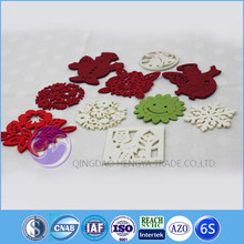 alibaba china wholesale Die Cut Laser Cut Felt tea cup coaster