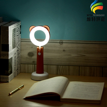 Creative Color Changeable Flexible USB LED Desk Lamp For Children