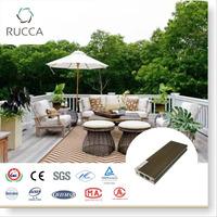 2016 wood composite veranda decking flooring 70*25mm exterior home garden depot timber raw materials